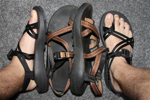 how to clean old chacos